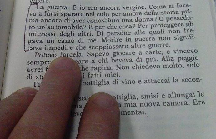 Charles Bukowski – La Guerra