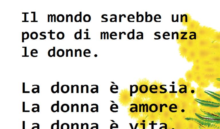 La donna è poesia. – Bukowski