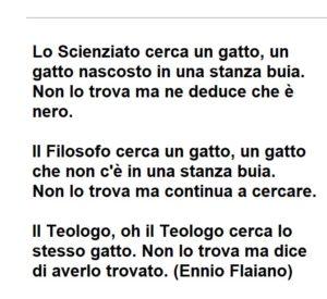Lo Scienziato, Il Filosofo, Il Teologo (Ennio Flaiano)